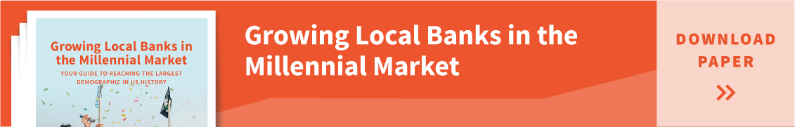 Growing local banks in the millennial marketing resource